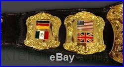 New World Wrestling championship title belt NWA Heavyweight WWE ROH
