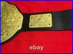 New Wwe World Heavyweight Big Gold Championship Replica Belt 2mm Brass Adult