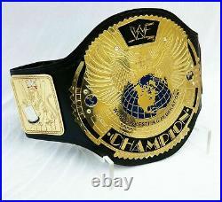 New Wwf Big Eagle World Wrestling Championship Title Heavyweight Adult Size Belt