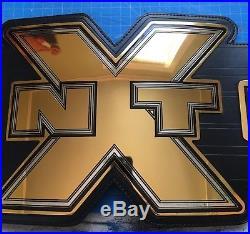 Nxt Wrestling Championship Title Belt Adult Metal Plates Wwe Wwf ROH Tna