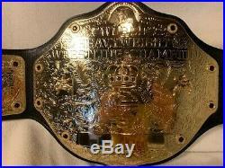 OFFICIAL WWE World Heavyweight Championship Wrestling Belt Replica BIG GOLD