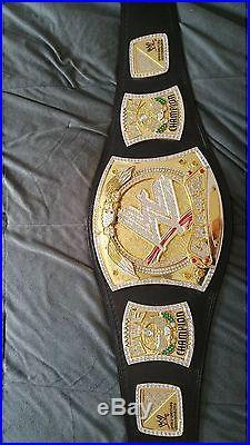Official Adult John Cena Replica WWE Championship Spinner Belt CM Punk V2