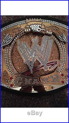 Official Adult Signed John Cena Replica WWE Championship Spinner Belt CM Punk V2