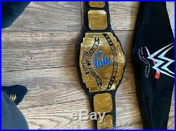 Official WWE Authentic Black Intercontinental Championship Replica Title Belt