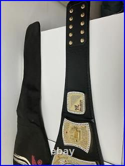 Official WWE Authentic Championship Spinner Adult Replica Title Belt
