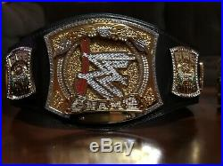 Official WWE Authentic Championship Spinner Replica Title Belt Gold