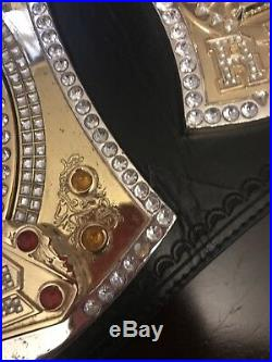 Official WWE Authentic Championship Spinner Replica Title Belt Heavy Gold