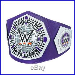 Official WWE Authentic Cruiserweight Championship Replica Title Belt Silver