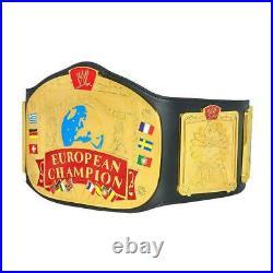 Official WWE Authentic European Championship Replica Title Belt Multi