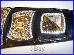 Official WWE Authentic Heavy WWE Championship Spinner Replica Title Belt, Metal