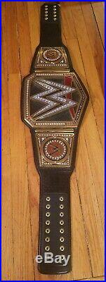 Official WWE Authentic Heavyweight Championship Commemorative Title Belt USED