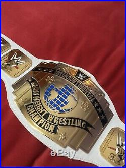 Official WWE Authentic Intercontinental Championship Replica Title Belt (2014)