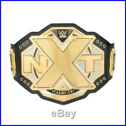 Official WWE Authentic NXT Championship Commemorative Title Belt Gold