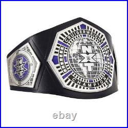Official WWE Authentic NXT Cruiserweight Championship Replica Title Belt Silver