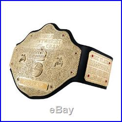 Official WWE Authentic Ric Flair WCW Heavyweight Championship Replica Title Belt