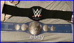 Official WWE Authentic SmackDown Tag Team Championship Replica Title Belt Metal