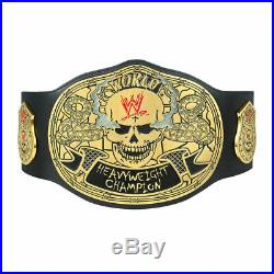 Official WWE Authentic Stone Cold Smoking Skull Championship Replica Title Belt