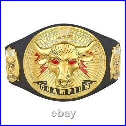 Official WWE Authentic The Rock Brahma Bull Replica Championship Title Belt