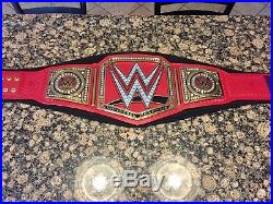 Official WWE Authentic Universal Championship Commemorative Title Belt