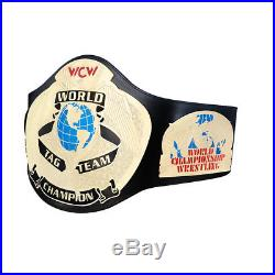 Official WWE Authentic WCW Tag Team Championship Replica Title Belt