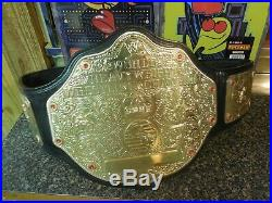 Official WWE Authentic World Heavyweight Championship Replica Title Belt 2014