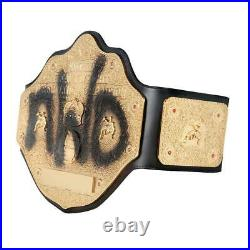 Official WWE Authentic nWo Spray Paint WCW Championship Replica Title Belt