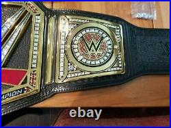 Official WWE Heavyweight Championship belt, Authentic, With Belt bag, Adult size