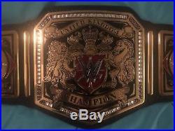 Official WWE United Kingdom (UK) Championship Replica Belt