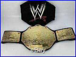 Official WWE World Heavyweight Championship Replica 2006 Title Belt With Bag