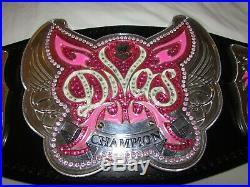 Official Wwe Authentic Divas 2012 Championship Belt Replica Adult Title Women