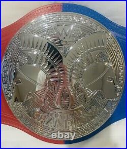 Official Wwe Raw & Smackdown Dual Tag Team Championship Replica Wrestling Belt