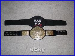 Officially Licensed Wwe World Heavyweight Championship Adult Replica Title Belt