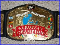 Officially Licensed Wwf European Championship Metal Adult Replica Wwe Title Belt