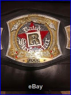 Original WWE Edge Rated R Spinner Championship Adult Title Belt WWF