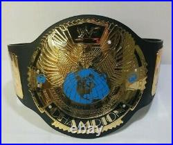 Original WWF Big Eagle Figures Toy Co Championship Replica Wrestling Belt WWE