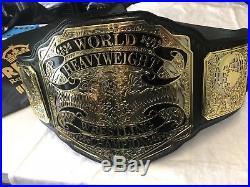 PREMIER HEAVYWEIGHT CHAMPIONSHIP WRESTLING BELT WWE TITLE WWF NWA 4mm