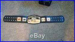 PREMIER NWA Championship Belt Adult Size deluxe #wwe #aew impact roh #nwapowerr