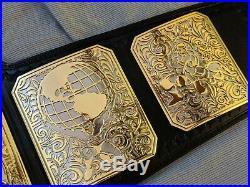 PREMIER REPLICA HEAVYWEIGHT CHAMPIONSHIP WRESTLING BELT WWE TITLE WWF NWA 4mm