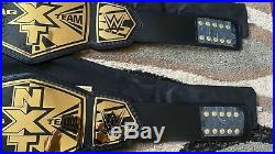 Pair Of Original 2014 NXT Tag Team Championship Belts (not made Anymore) WWE