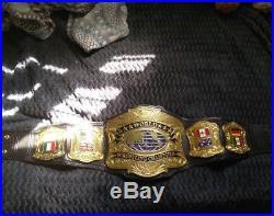 Premier World Championship Wrestling Belt Mega Deluxe Wwe Wwf Title Wcw Ultra