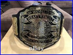 Premiere Heavyweight 4mm Championship Belt WWE WWF WCW NWA