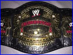 RARE WWE Mini Cruiserweight Championship Belt with Rey Mysterio Jr Name Plate