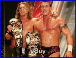 RARE WWF Rowdy Roddy Piper WWE Tag Team CHAMPIONSHIP BELT NAME PLATE Bundle