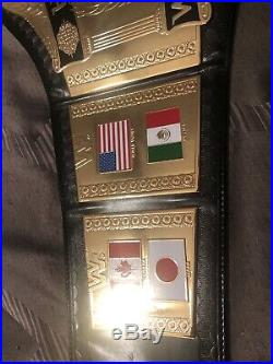 RARE WWF/WWE World Heavyweight Wrestling Championship Belt