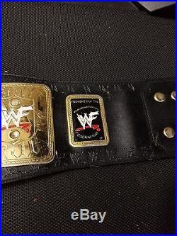 RARE WWF WWE big eagle attitude era heavyweight championship replica belt title