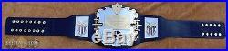 REAL AWA World Heavyweight Championship Wrestling Title Belt Millican WWE WWF
