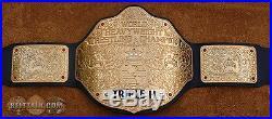 REAL Big Gold WCW NWA Heavyweight Championship Title Wrestling Belt WWE TNA