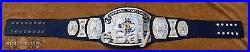 REAL Dave Millican UWF World Television Championship Wrestling Title Belt WWE TV