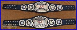 REAL J-Mar WWE RAW 3D Tag Team Wrestling Championship Title Belt WWF TNA NWA