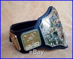 REAL NWA NATIONAL CHAMPIONSHIP WRESTLING BELT made by DAVE MILLICAN @LOOK@ WWE